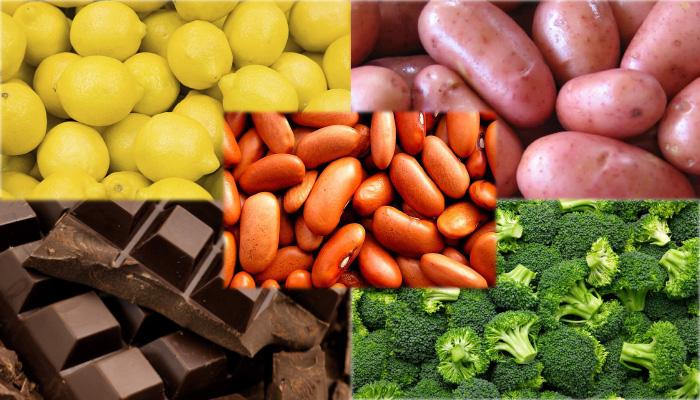 les aliments sains