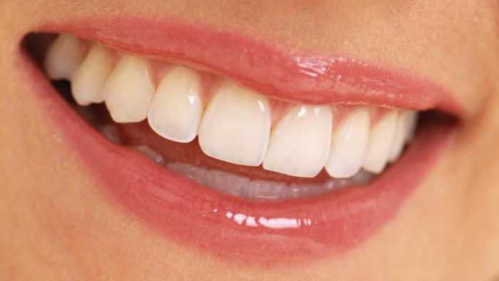 une belle sourire avec de beaux dents